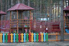 Детский веревочный городок
