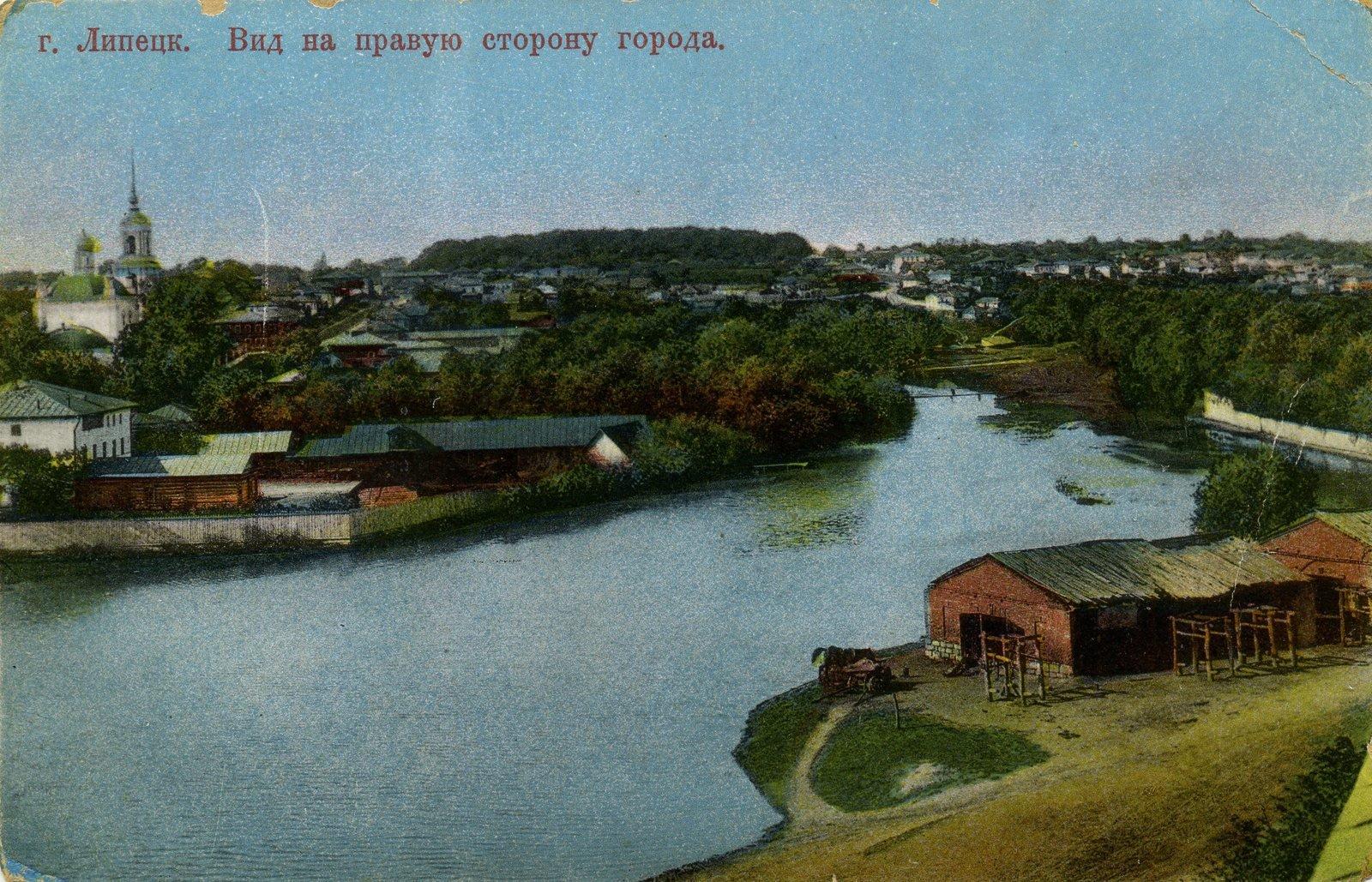 Липецк. Вид на правую сторону города