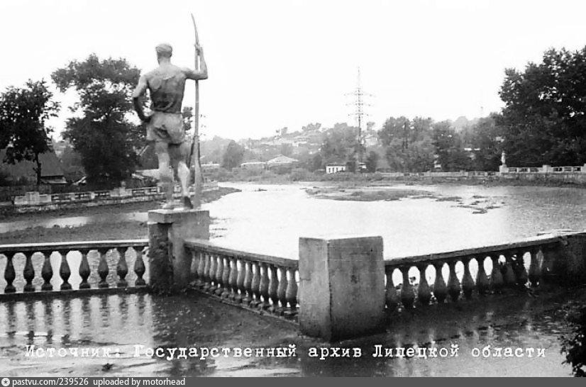 12 июля 1964 года. Липецк. Комсомольский пруд