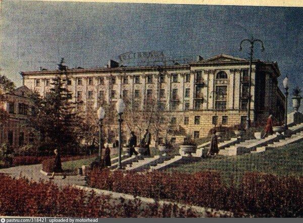 1963 год. Липецк. Гостиница