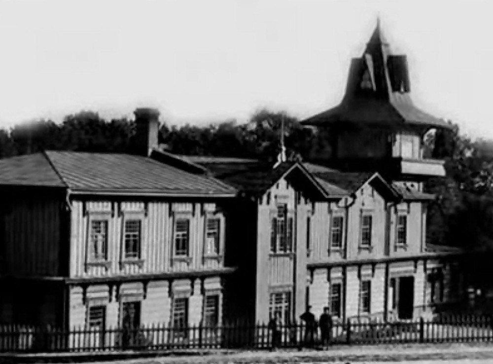 1908–1913. Липецкий курорт. Дом дирекции Липецких минеральных вод