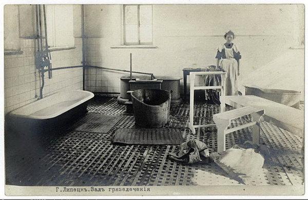 1908–1913. Липецкий курорт. Зал грязелечения