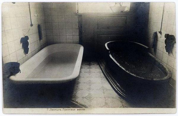 1908–1913. Липецкий курорт. Грязевые ванны