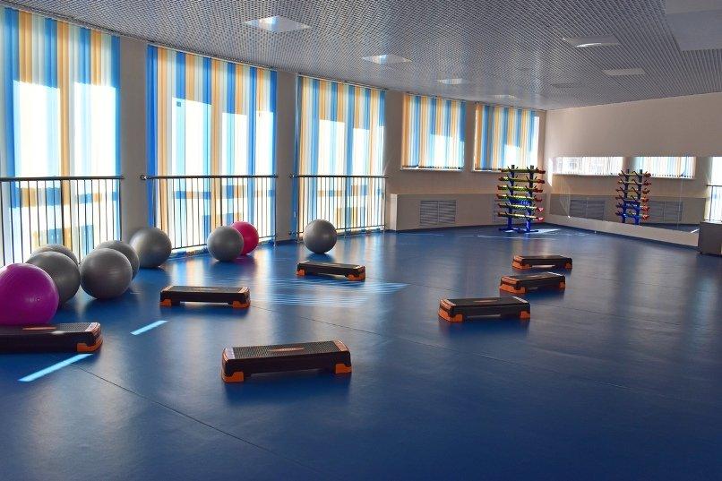 Фитнес-зал физкультурно-оздоровительного комлекса МАОУ СШ №60