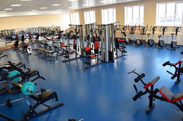 Тренажерный зал физкультурно-оздоровительного комплекса МАОУ СШ №60