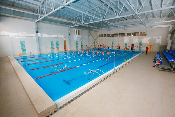 Бассейн спортивно-оздоровительного центра МАОУ СШ №30