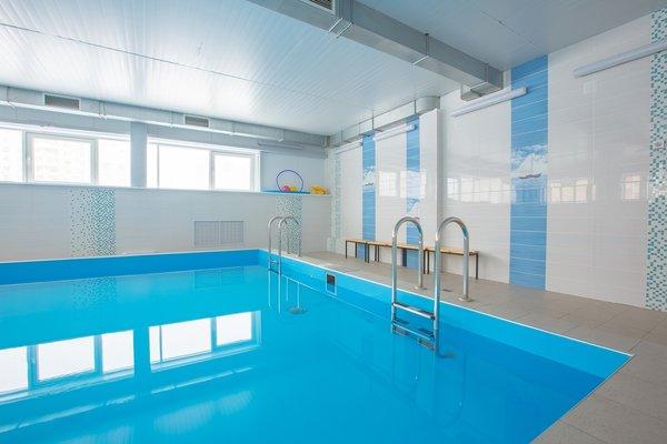 Малый бассейн спортивно-оздоровительного центра