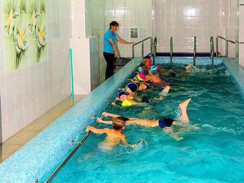 Малый бассейн учебно-спортивного комплекса ЛГТУ