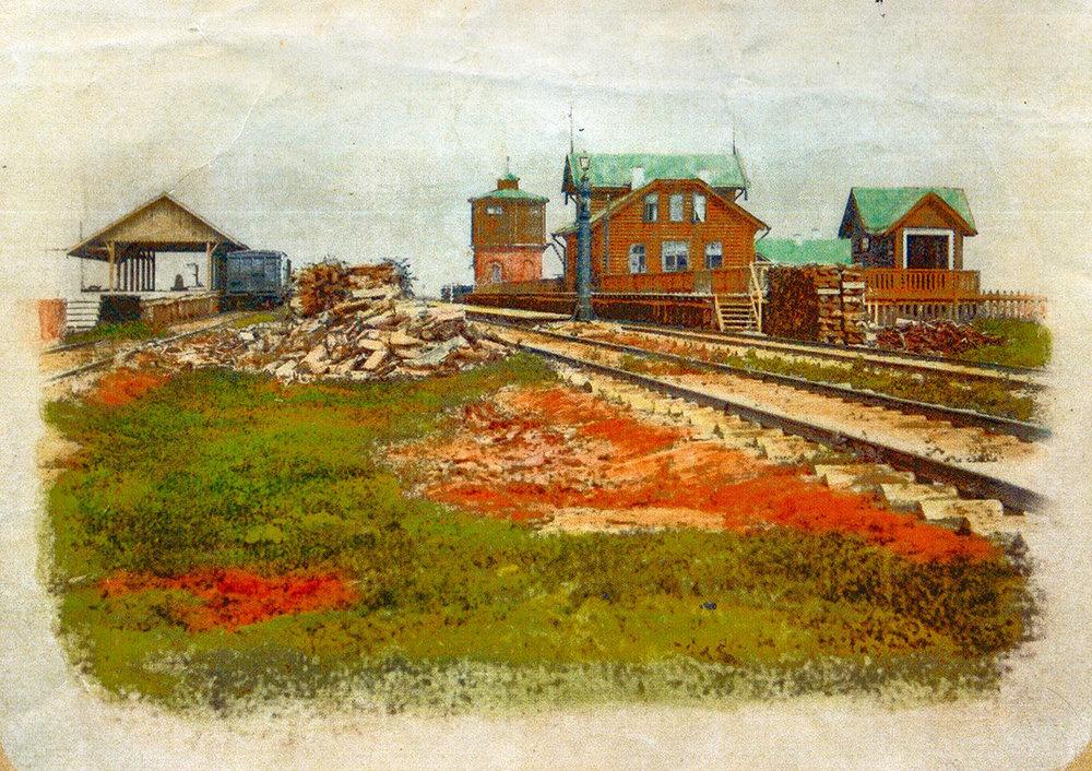 Станция Добринка Липецкой области
