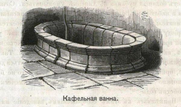 Кафельная ванна