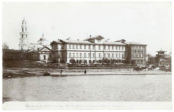 Липецк. Казенная гостиница Липецких минеральных вод